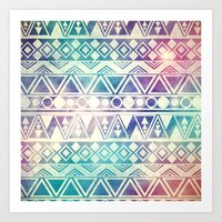 Tribal Orbit Art Print