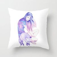 Galaxy Wanderer Throw Pillow