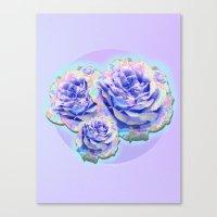 Cyber_flowerz Canvas Print