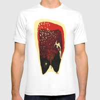 Fenix Mens Fitted Tee White SMALL