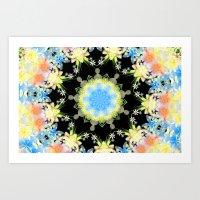 Kaleidoscope 'Twisted … Art Print