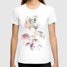 Viva México Womens Fitted Tee White SMALL