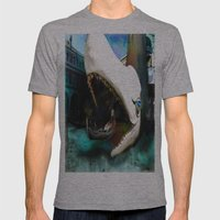 Whale Of A Ride Mens Fitted Tee Athletic Grey SMALL