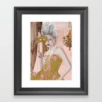 La Question C'est Voulez… Framed Art Print