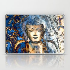 Inner Guidance - Blue Buddha Zen Art Laptop & iPad Skin