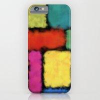 Tracks of colors iPhone 6 Slim Case