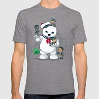 Puft Buddies Mens Fitted Tee Tri-Grey SMALL