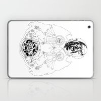 Two Horses, Tim And Eric… Laptop & iPad Skin
