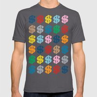 Colourful Money 48 Mens Fitted Tee Asphalt SMALL