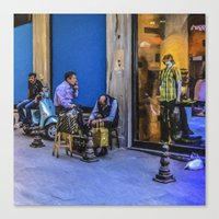 Travel Diary - Istanbul  Canvas Print