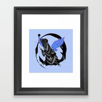 To Fly Free Framed Art Print