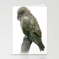 Kea Pattern Stationery Cards