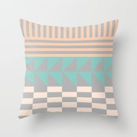 Opostos Throw Pillow