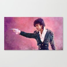 Purple Rain (prince) Canvas Print