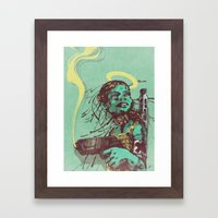 Guard II. Framed Art Print