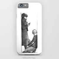 sherlock iPhone & iPod Cases featuring SHERLOCK by ireallyshouldbedrawing