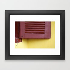 When a door closes, a window opens Framed Art Print