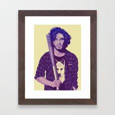 80/90s - J.S Framed Art Print