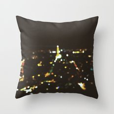 Starry Nights:Paris 2 Throw Pillow