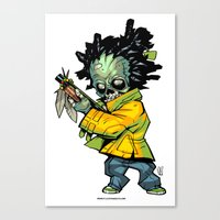 Z gang - Suga Flinn - Villains of G universe Canvas Print