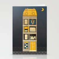 Night spy Stationery Cards