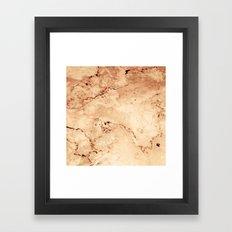 Rosado Marble Framed Art Print