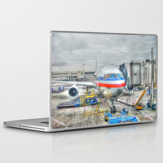 Getting Ready for Takeoff Laptop & iPad Skin