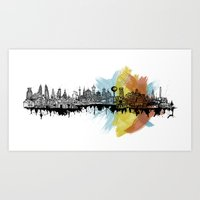 Long City Art Print