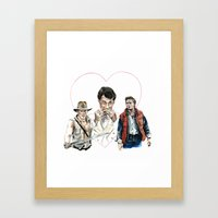 The Trifecta  Framed Art Print