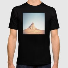 Monument Valley Black SMALL Mens Fitted Tee