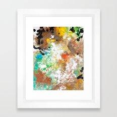 Elbow Falls  Framed Art Print