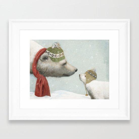 First Winter Framed Art Print