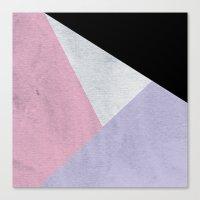 Triangles Canvas Print