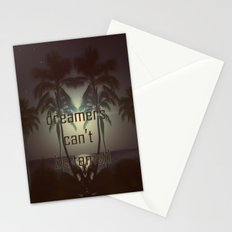 Dreamers can't be tamed Stationery Cards