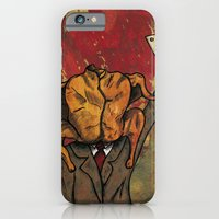 iPhone & iPod Case featuring Pavomán (turkeyman) by Fhil Navarro