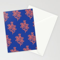 Corals Stationery Cards