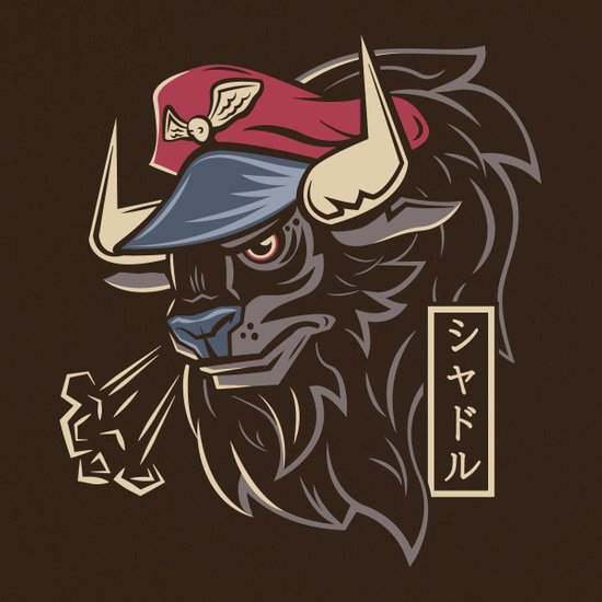 Master Bison Canvas Print