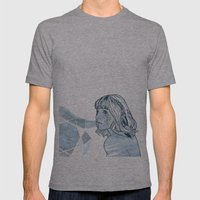 Lavender Diamond Mens Fitted Tee Athletic Grey SMALL