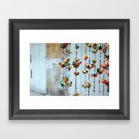 brilliant birds Framed Art Print