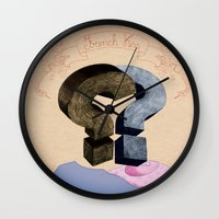 French Kiss. Question Se… Wall Clock