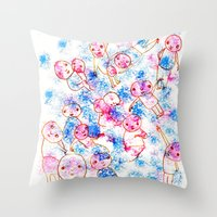 GENTE Throw Pillow