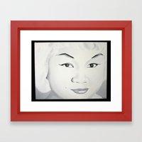 Etta James Framed Art Print