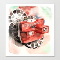 Vintage gadget series: View-Master Model G Canvas Print