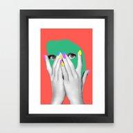 Sonia Framed Art Print
