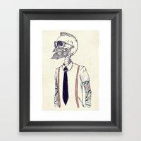 The Gentleman Becomes A … Framed Art Print