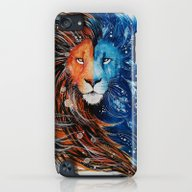 Fire And Ice Lion iPod touch Slim Case