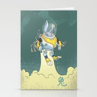 Astro Zodiac Force 04: Rabbit Stationery Cards
