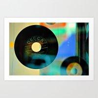 Nothing Sounds Like Vinyl Art Print