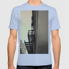 Chutes and Ladders Mens Fitted Tee Athletic Blue SMALL