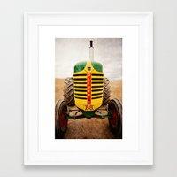 oliver Framed Art Print